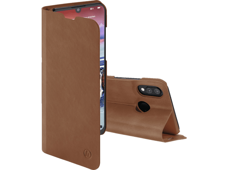 HAMA Guard Pro , Bookcover, Huawei, P Smart (2019), Honor 10 Lite, Kunstleder, Braun