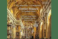 Letzbor/St.Florianer Sängerknaben/Ars Antiqua A. - Festmessen für Kloster Lambach-Missa à 23/+ [CD]