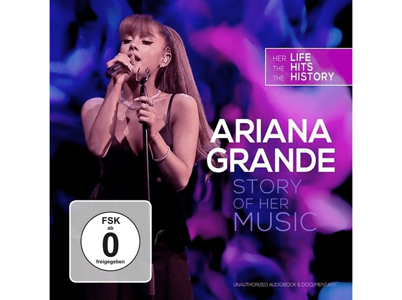Ariana Grande - Story Of Her Music/Unauthorized [CD + DVD Video]