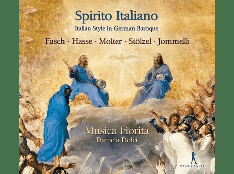 Daniela Dolci Musica Fiorita - Spirito Italiano-Italian Style in German Baroque [CD]