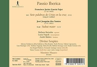 Divino Sospiro,  Massimo Mazzeo - Passio Iberica-7 letzte Worte/Stabat Mater  - (CD)