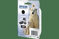 EPSON Original Tintenpatrone Schwarz (C13T26214012)