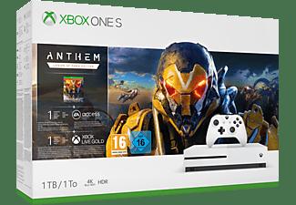 MICROSOFT Xbox One S 1TB Konsole - Anthem Bundle