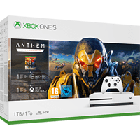 MICROSOFT Xbox One S 1TB Konsole - Anthem Bundle