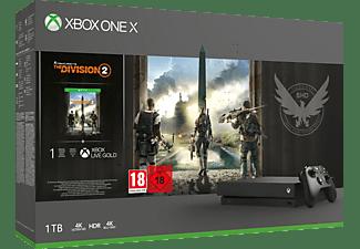MICROSOFT Xbox One X 1TB Konsole - The Division 2 Bundle