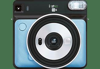FUJIFILM instax SQUARE SQ6 Sofortbildkamera, Aqua Blue