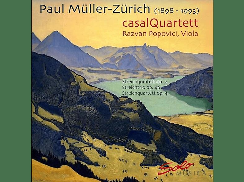 Casal Quartett, Razvan Popovici - Streichquintett,Streichquartett,Streichtrio [CD]