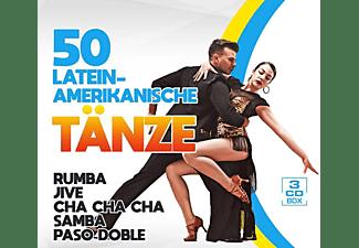 VARIOUS - 50 Lateinamerikanische Tänze  - (CD)