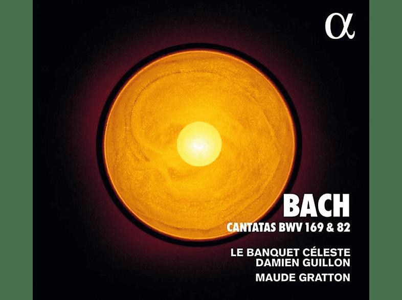 Guillon,Damien/Gratton,Maude/Le Banquet Celeste - Kantaten BWV 169 & 82 [CD]