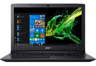 ACER Aspire 3 (A315-53G-345H), Notebook mit 15.6 Zoll Display, Core™ i3 Prozessor, 8 GB RAM, 1 TB HDD, GeForce® MX130, Schwarz
