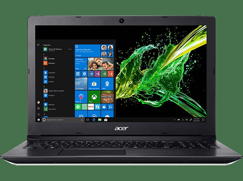 ACER Aspire 3 (A315-53G-56CC), Notebook mit 15.6 Zoll Display, Core™ i5 Prozessor, 8 GB RAM, 1 TB HDD, GeForce® MX130, Schwarz