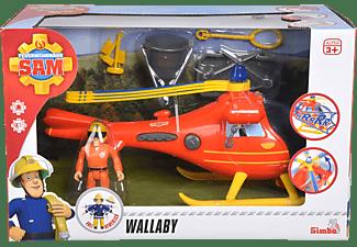 SIMBA TOYS Sam Hubschrauber mit Figur Spielzeughubschrauber Mehrfarbig