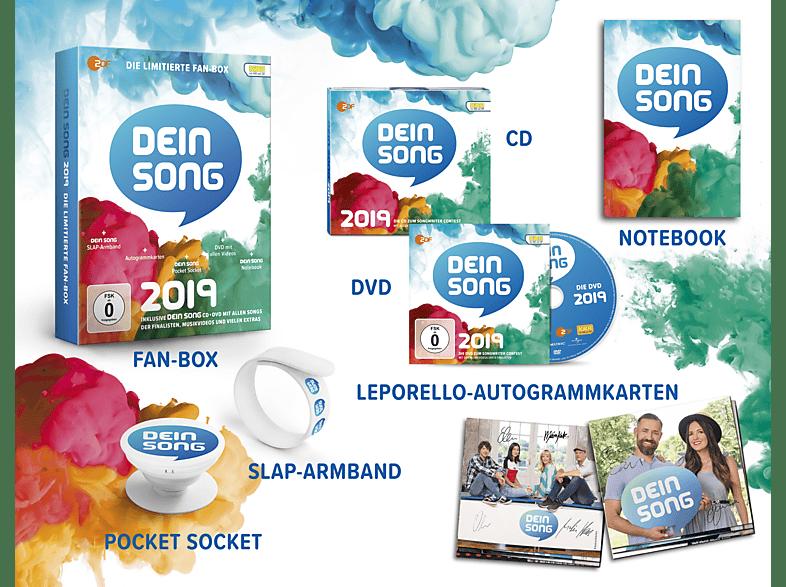 VARIOUS - Dein Song 2019 (Limitierte Fanbox) [CD]
