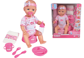 SIMBA TOYS New Born Baby Baby Care Spielzeugpuppe Mehrfarbig