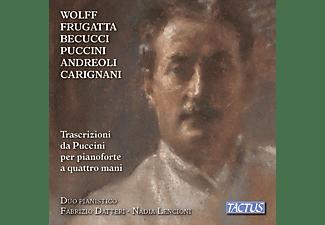 Fabrizio Datteri, Nadia Lencioni - Transcriptions from Puccini for Piano Four-Hands  - (CD)