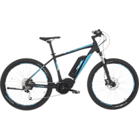 FISCHER - FAHRRAD EM 1864 Mountainbike (27.5 Zoll, 48 cm, MTB Rahmen, 557 Wh, Schwarz matt)