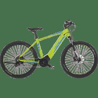 FISCHER - FAHRRAD MONTIS 6.0I Mountainbike (27.5 Zoll, 48 cm, MTB Rahmen, 504 Wh, Apfelgrün matt)