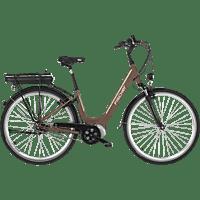 FISCHER - FAHRRAD CITA 3.0 Citybike (28 Zoll, 44 cm, City Rahmen, 396 Wh, Mocca matt)