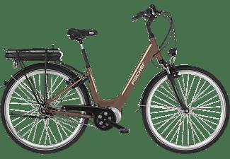 FISCHER CITA 3.0 Citybike (Laufradgröße: 28 Zoll, Rahmenhöhe: 28 cm, Unisex-Rad, 396 Wh, Mocca matt)