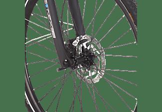 FISCHER VIATOR 5.0I Trekkingrad (Laufradgröße: 28 Zoll, Rahmenhöhe: 28 cm, Damen-Rad, 418 Wh, Schiefergrau matt)