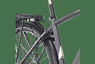FISCHER - FAHRRAD VIATOR 5.0I Trekkingrad (28 Zoll, 50 cm, Trekking Rahmen, 418 Wh, Schiefergrau matt)