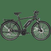 FISCHER - FAHRRAD ETH 1861.1 Trekkingrad (28 Zoll, 50 cm, Trekking Rahmen, 557 Wh, Schwarz matt)