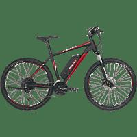 FISCHER - FAHRRAD EM 1726 Mountainbike (27.5 Zoll, 48 cm, MTB Rahmen, 422 Wh, Signalschwarz matt)