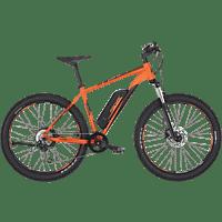 FISCHER - FAHRRAD EM 1723 Mountainbike (27.5 Zoll, 48 cm, MTB Rahmen, 557 Wh, Signalorange matt)