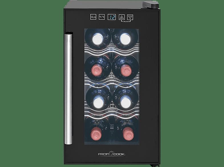 PROFI COOK PC-GK 1163  Kühlschrank (A+, 100 kWh/Jahr, 453 mm hoch, Schwarz)