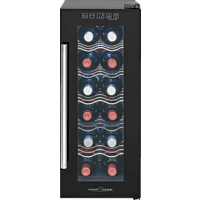PROFI COOK PC-GK 1164  Kühlschrank (A+, 121 kWh/Jahr, 635 mm hoch, Schwarz)