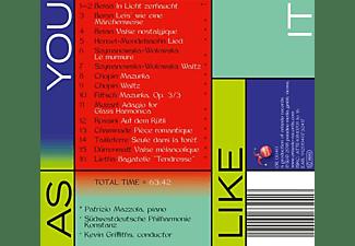 Mazzola/Südwestdeutsche Philharmonie Konstanz/+ - As you like it  - (CD)