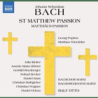 Ralf/bachchor Mainz/bachorchester Mainz/+ Otto - St Matthew Passion/Matthäus Passion [CD]
