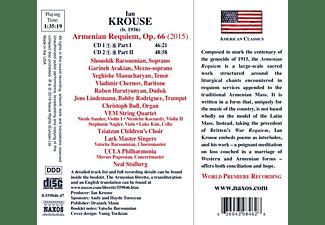 Barsoumian/Chernov/Stulberg/UCLA Philharmonia/+ - Armenian Requiem  - (CD)