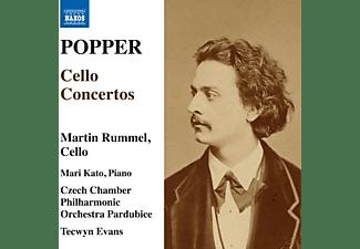 Martin Rummel, Mari Kato, Czech Chamber Philharmonic Orchestra Pardubice, Tecwyn Evans - Cellokonzerte  - (CD)