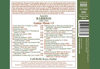 Celil Refik Kaya - Gitarrenmusik Vol.5  - (CD)