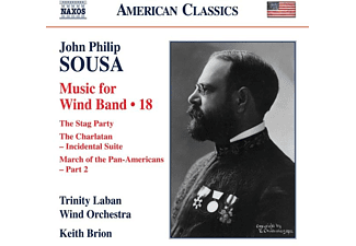 Keith/trinity Laban Wind Orchestra Brion - Music for Wind Band Vol.18  - (CD)