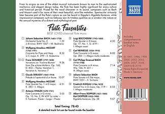 VARIOUS - Flute Favourites  - (CD)