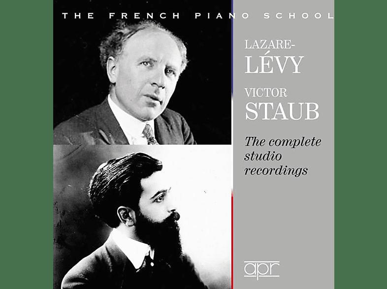 Victor/lazare-lévy Staub - Victor Staub & Lazare-Lévy-The Complete Studio Rec [CD]