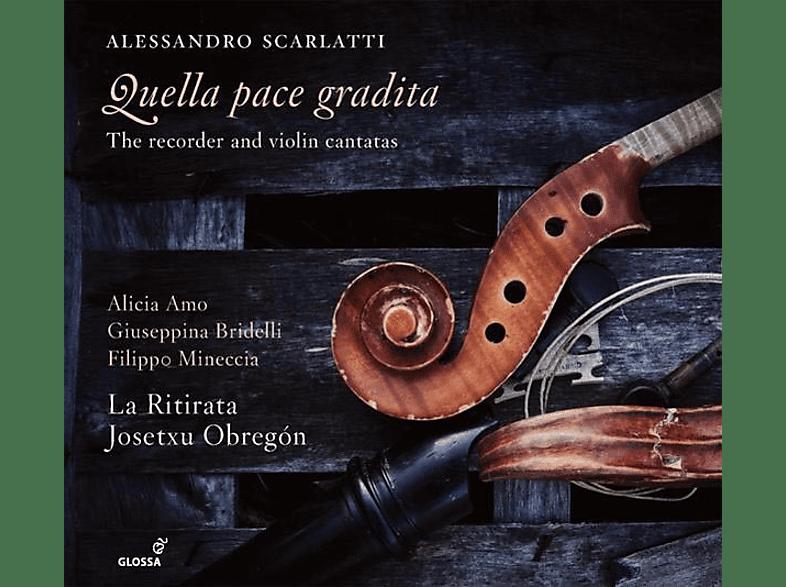 Amo/Bridelli/Mineccia/Obregón/La Ritirata - Quella pace gradita-Kantaten [CD]