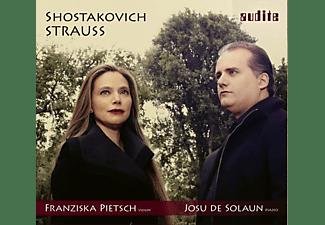 Pietsch,Franziska/de Solaun,Josu - Sonaten für Violine & Klavier  - (CD)
