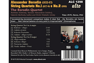 The Borodin Qaurtet - String Quartets Nos. 1 & 2 [CD]