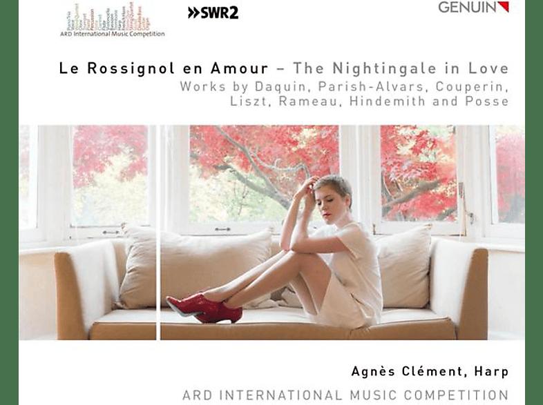 Agnès Clément - Le Rossignol en Amour-Werke für Harfe solo [CD]