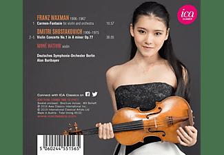 Moné Hattori, Deutsches Symphonie-orchester Berlin - Schostakowitsch Violinkonzert 1  - (CD)