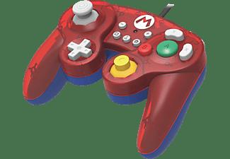 HORI Switch Smash Bros Gamepad Mario Controller Rot/Blau