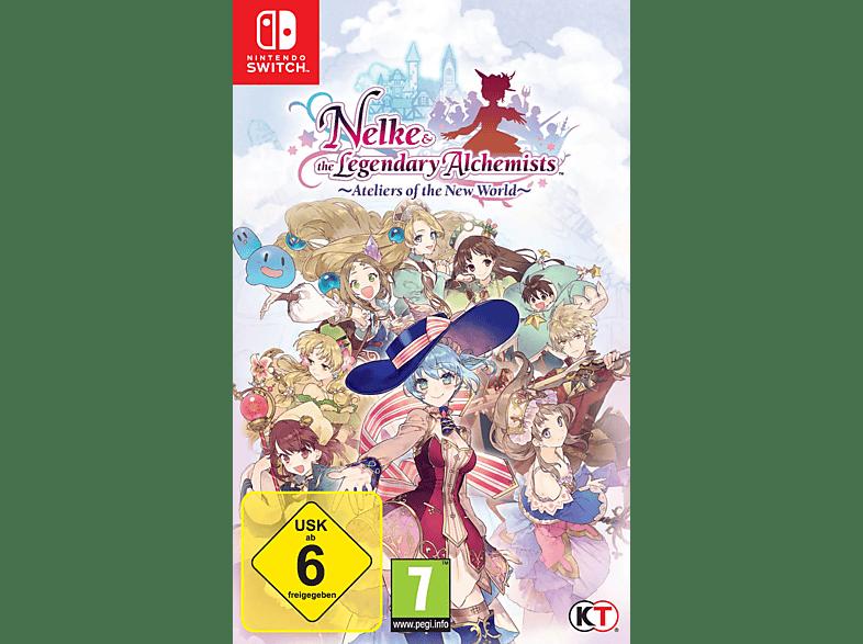 Nelke & the Legendary Alchemists: Ateliers of the New World [Nintendo Switch]