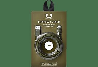 FRESH N REBEL Fabriq, Datenkabel/Ladekabel, 1,5 m, Olivgrün