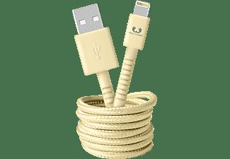 FRESH N REBEL Fabriq Lightning Kabel 1,5m, Buttercup, Datenkabel/Ladekabel, 1,5 m, Buttercup