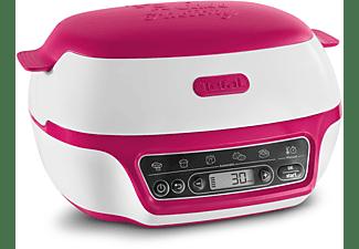 TEFAL KD8018 Cake Factory Kuchenbackautomat Weiß/Pink