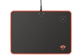 TRUST Gaming Mauspad GXT 750 Qlide RGB, Wireless Charging, Schwarz (23184)