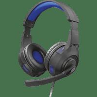 TRUST Gaming GXT 307 Ravu Headset, Schwarz/Blau